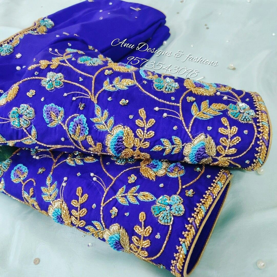 Trendy Blouse Designs For Saree #blousedesignslatest Top 50+ Latest and Trendy B…