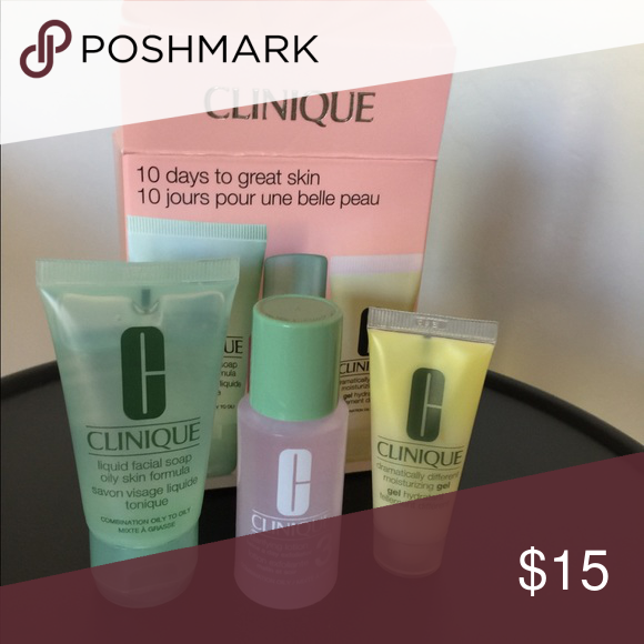 3 Packages Of Clinique 3 Step Skin Care Selling These Together So You May Have Great Product With Less In Shipping Clothes Design Clinique Makeup Fashion Tips