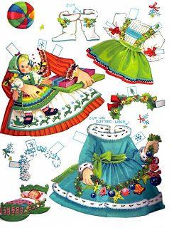 Kathleen Taylor's Dakota Dreams: Thursday Tab- Merrill Little Miss Christmas and Holly Belle