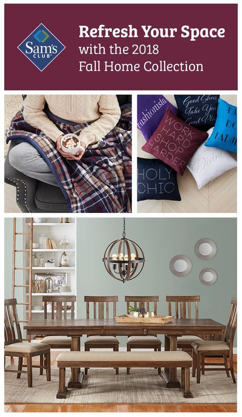 Shop The Catalog For New Décor Ideas Looks Colors Home Decor Adorable Sam's Club Decorative Pillows