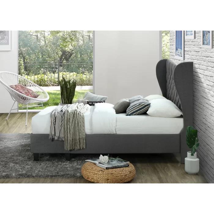 Anatole Upholstered Storage Platform Bed Bed storage