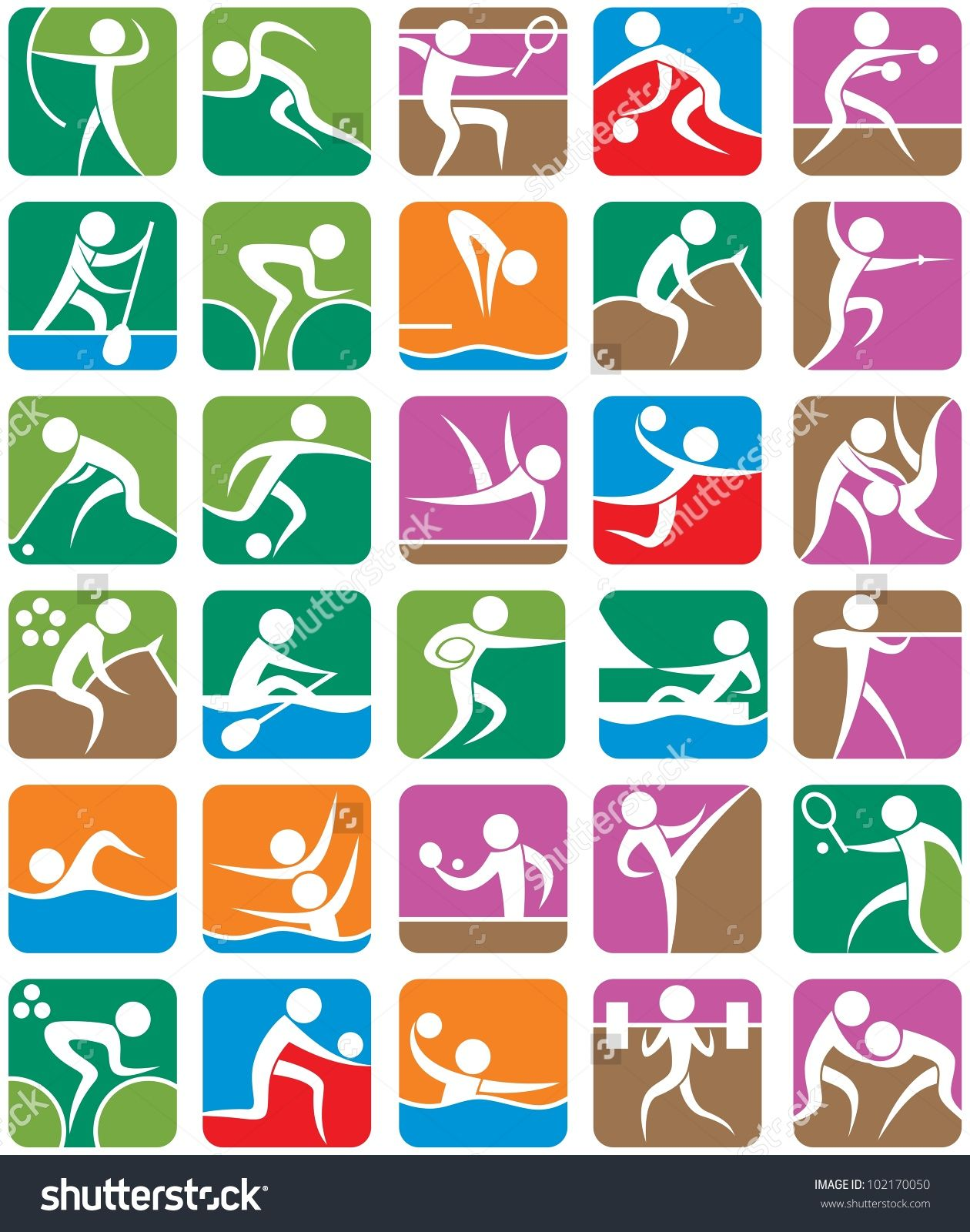 Sports Symbols Stock Photos Images Pictures Shutterstock Art