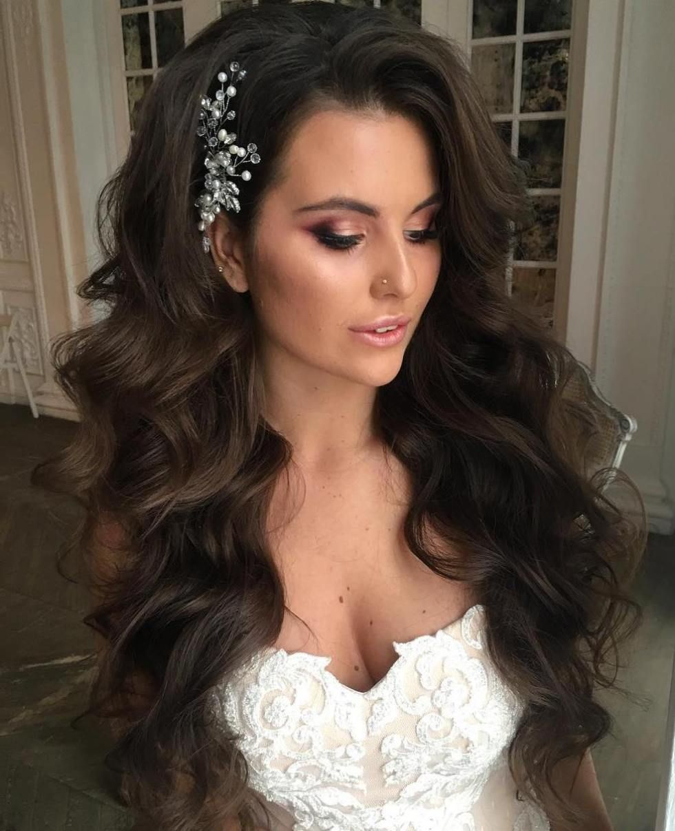 40 Gorgeous Wedding Hairstyles For Long Hair Long Hair Styles Long Hair Wedding Styles Hair Styles