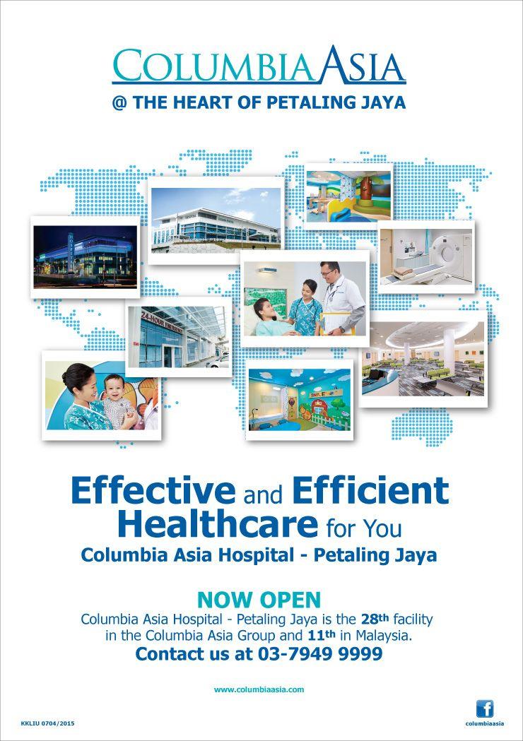 Columbia Asia Medical Centre Design Interior Jpg 1 000 1: Petaling Jaya Advertisement