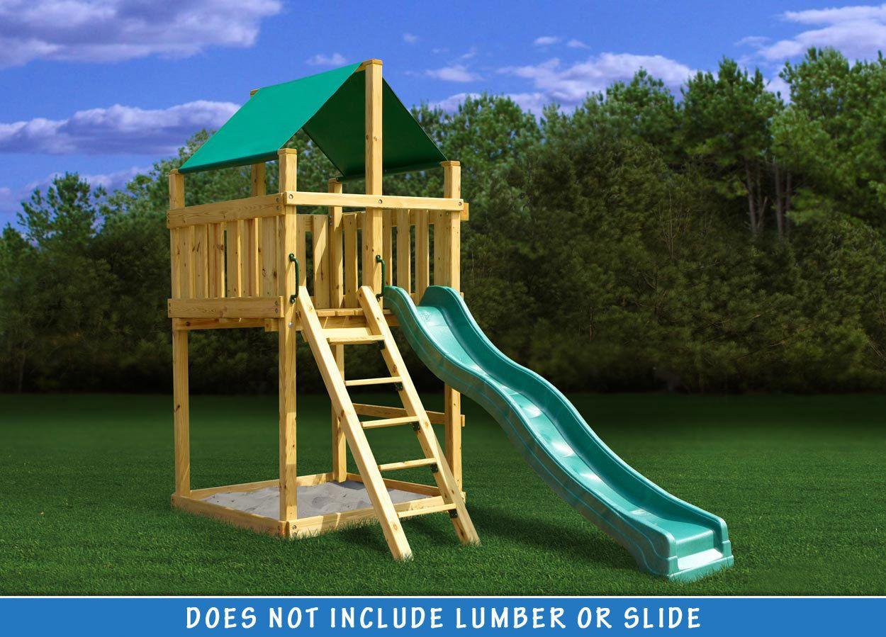 Discovery Fort - DIY Kit | Swing set diy, Diy swing, Swing ...