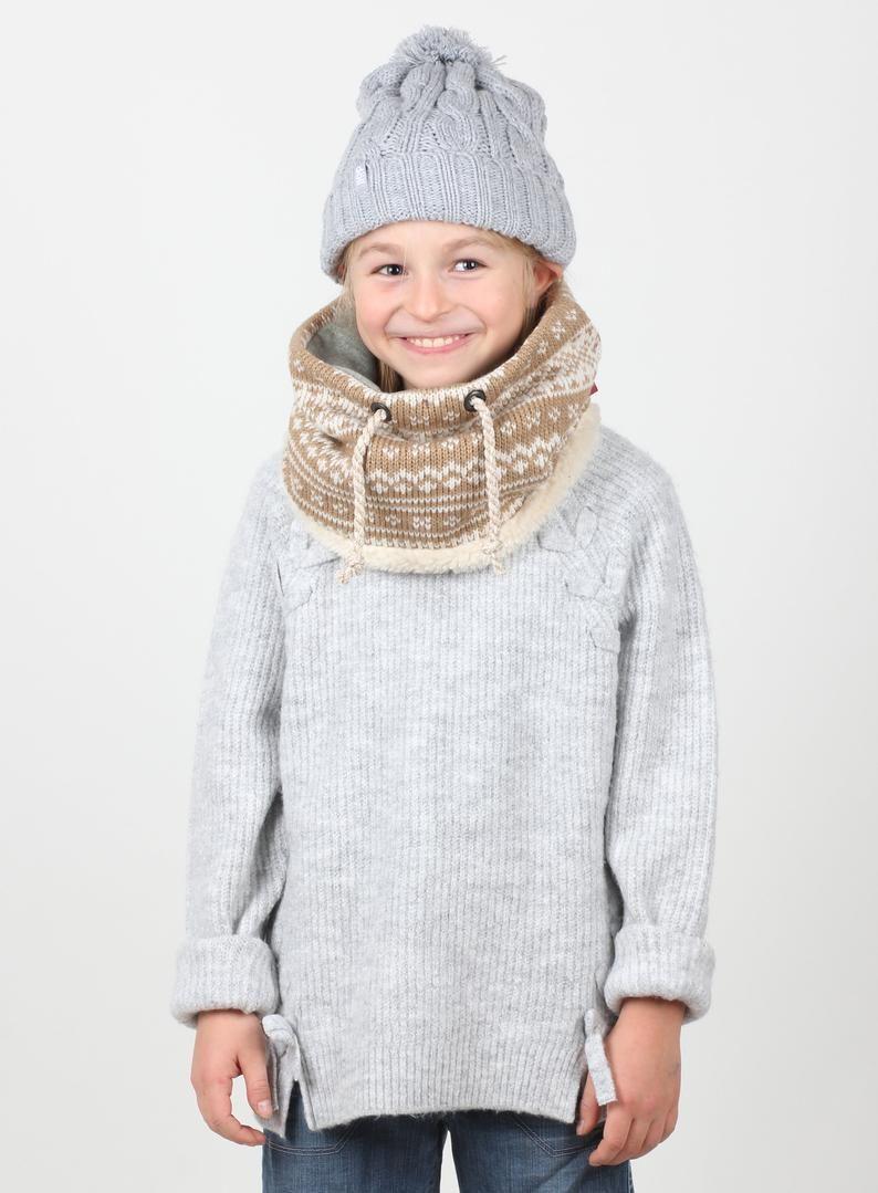 Photo of Chunky Knit Scarf, Chunky Cowl Scarf, Knit Loop Scarf, handgefertigter Schal, Kinder-Snood-Schal, Winteraccessoires, Weihnachtsgeschenk, Geburtstagsgeschenk