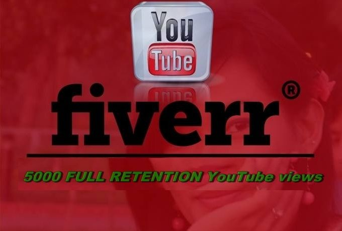 I will get you 5000 full retention youtube views.