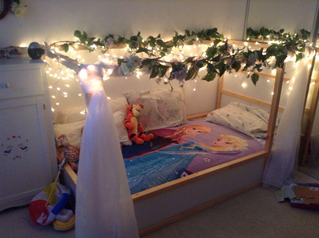 Princess Bed Hack From Ikea Kura Loft Bed Ikea Kura