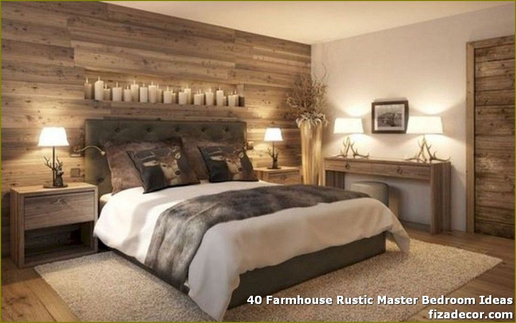 40 Farmhouse Rustic Master Bedroom Ideas Page 5 Of 40 Best Home Decor Master Bedrooms Decor Country Style Bedroom Remodel Bedroom