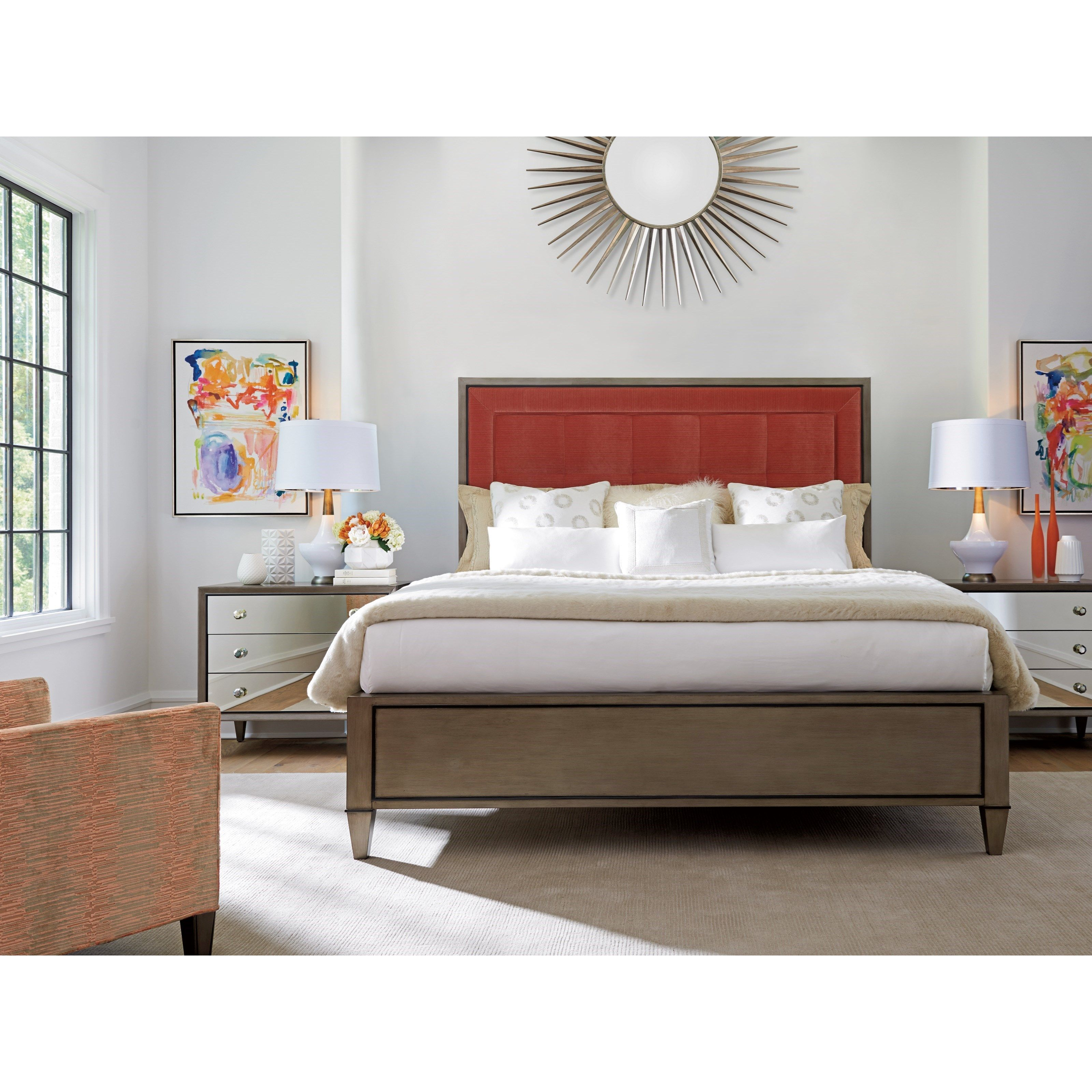 Ariana Queen Bedroom Group by Lexington at Howell