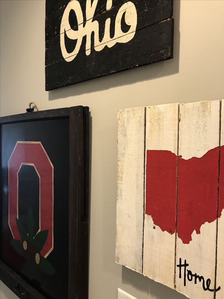 Ohio State Buckeyes Canvas College Football
