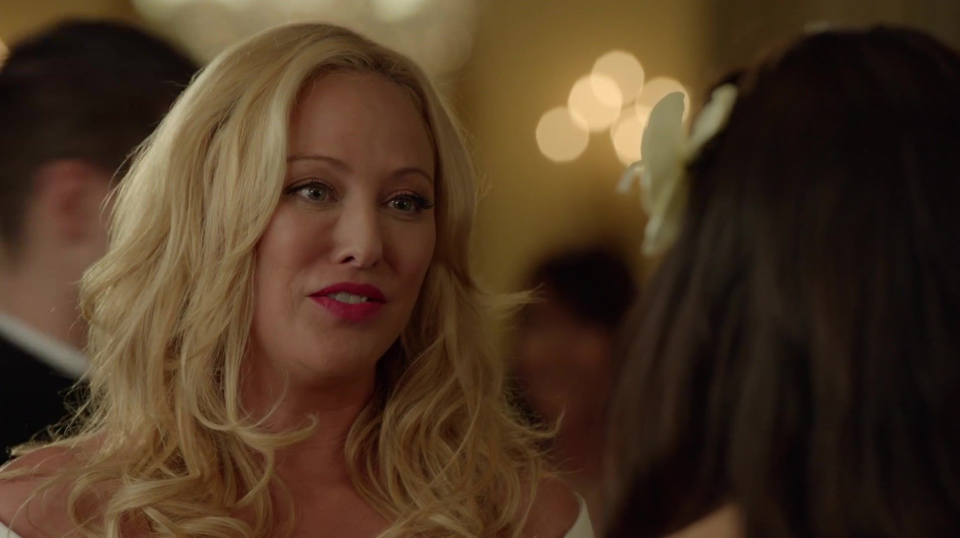 Virginia Madsen on Witches of East End