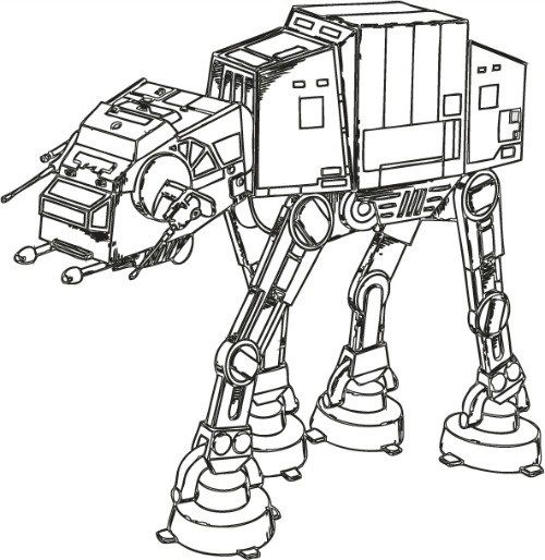 Colouring Pages for Adults and Kids Star wars coloring