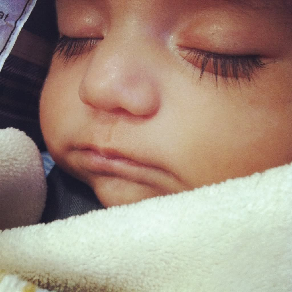 Do Any Of Your Babies Have Really Long Eyelashes??