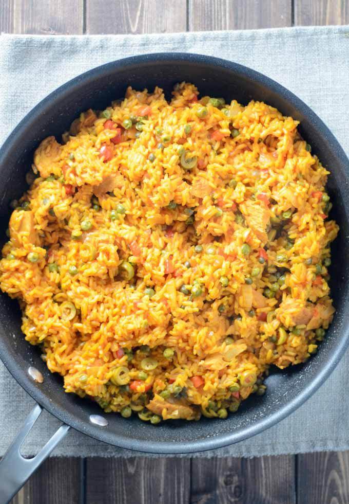 Eazy Arroz con Pollo   Pantry Full of Recipes