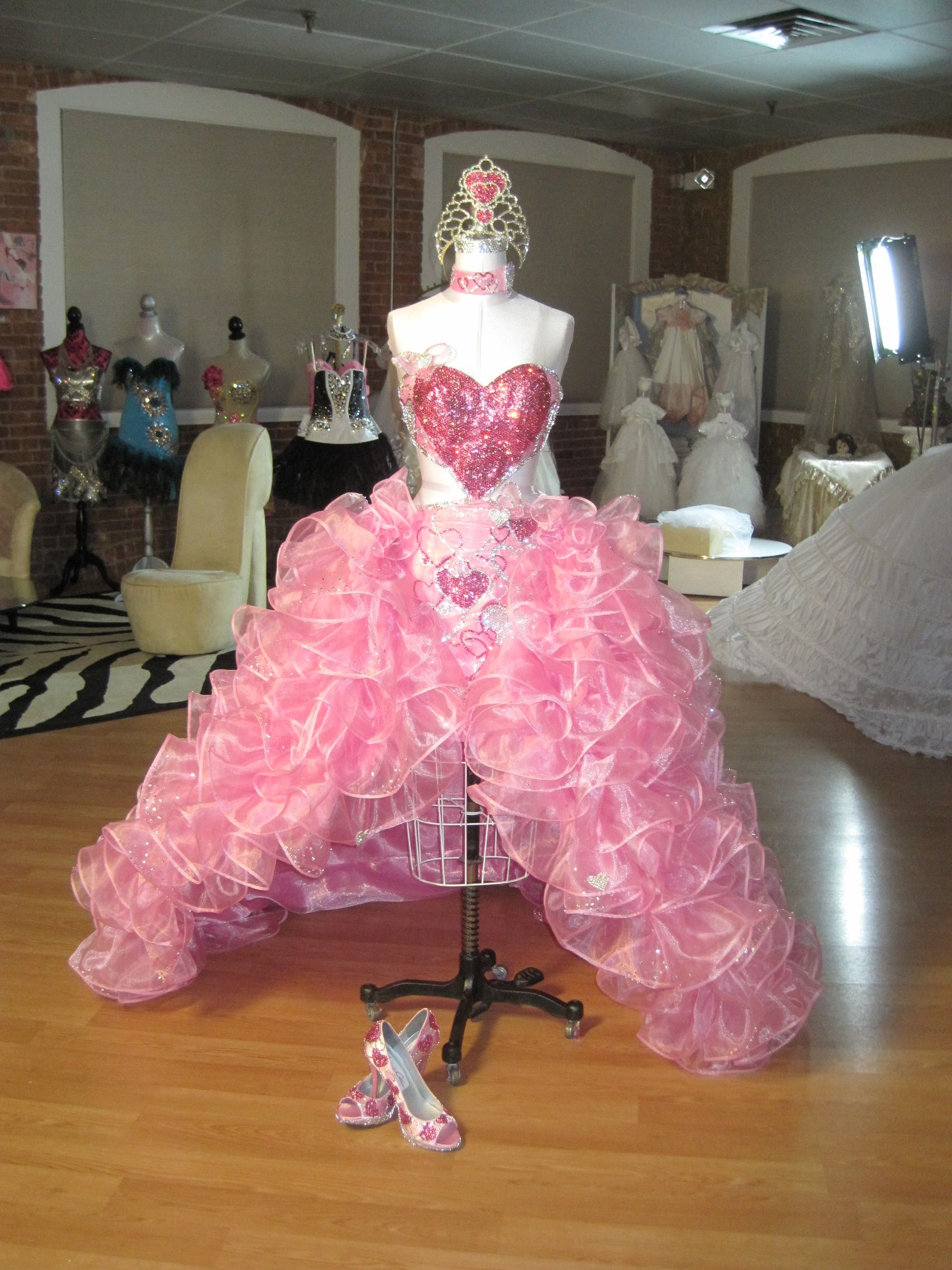 Priscillas Queen Of Hearts Dress By Sondra Celli