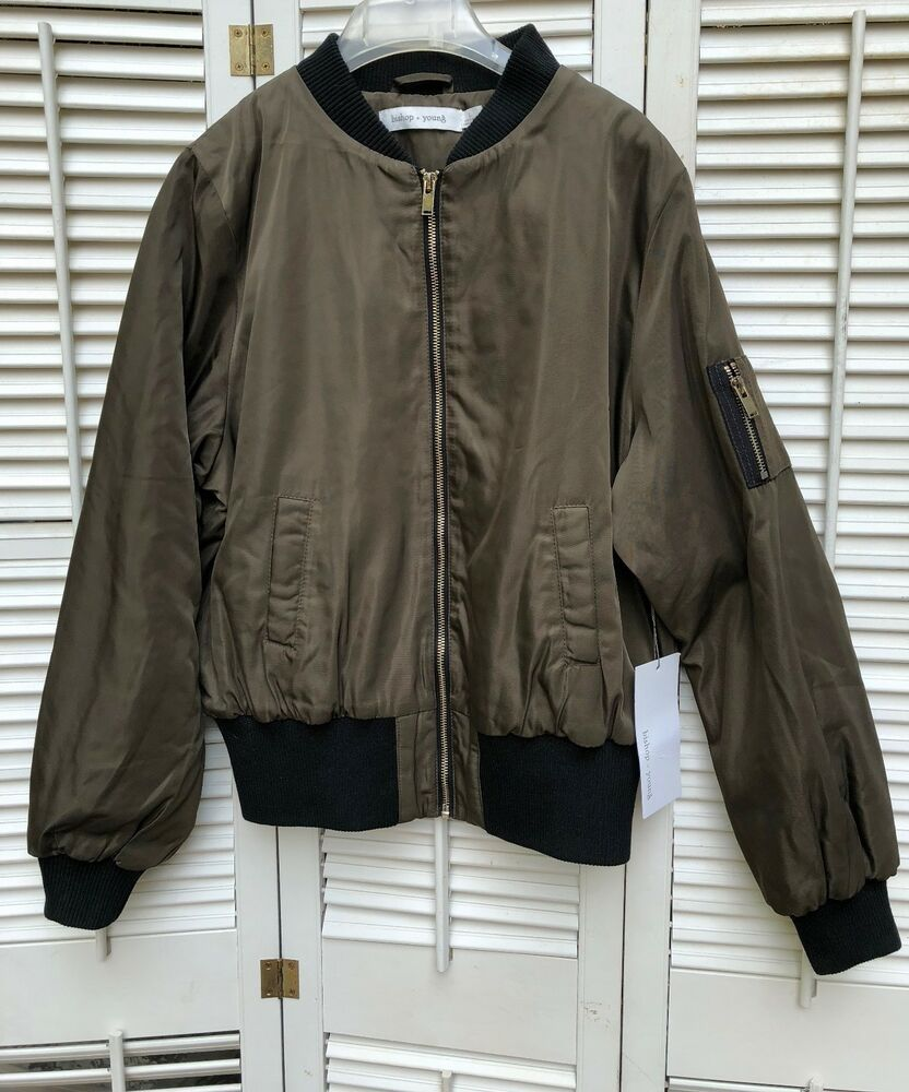 Bishop And Young Green Bomber Jacket Women S L K46jck0688a New Never Worn Fashion Clo Bomber Jacket Women Womens Green Bomber Jacket Green Bomber Jacket [ 1000 x 832 Pixel ]