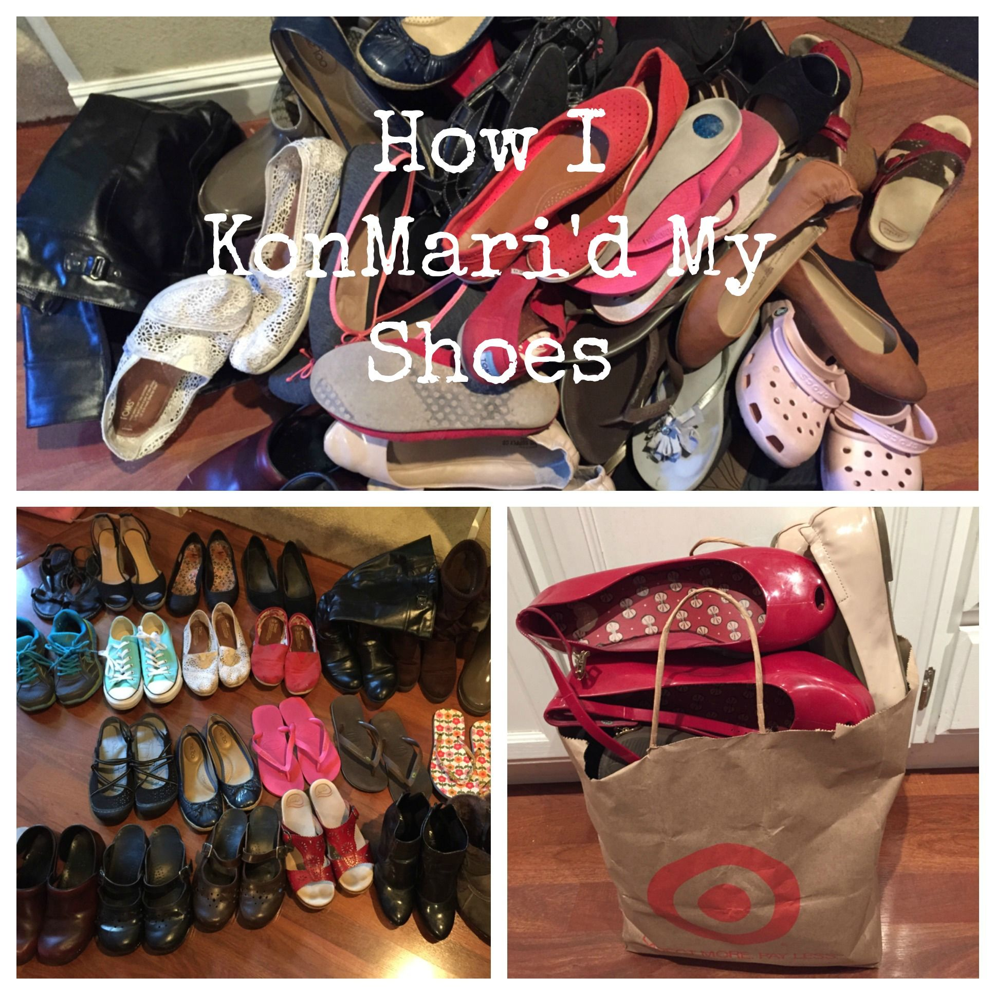 Shoe Organization Hacks: The Life Changing Magic Of Marie Kondo Part 4 (My Shoes