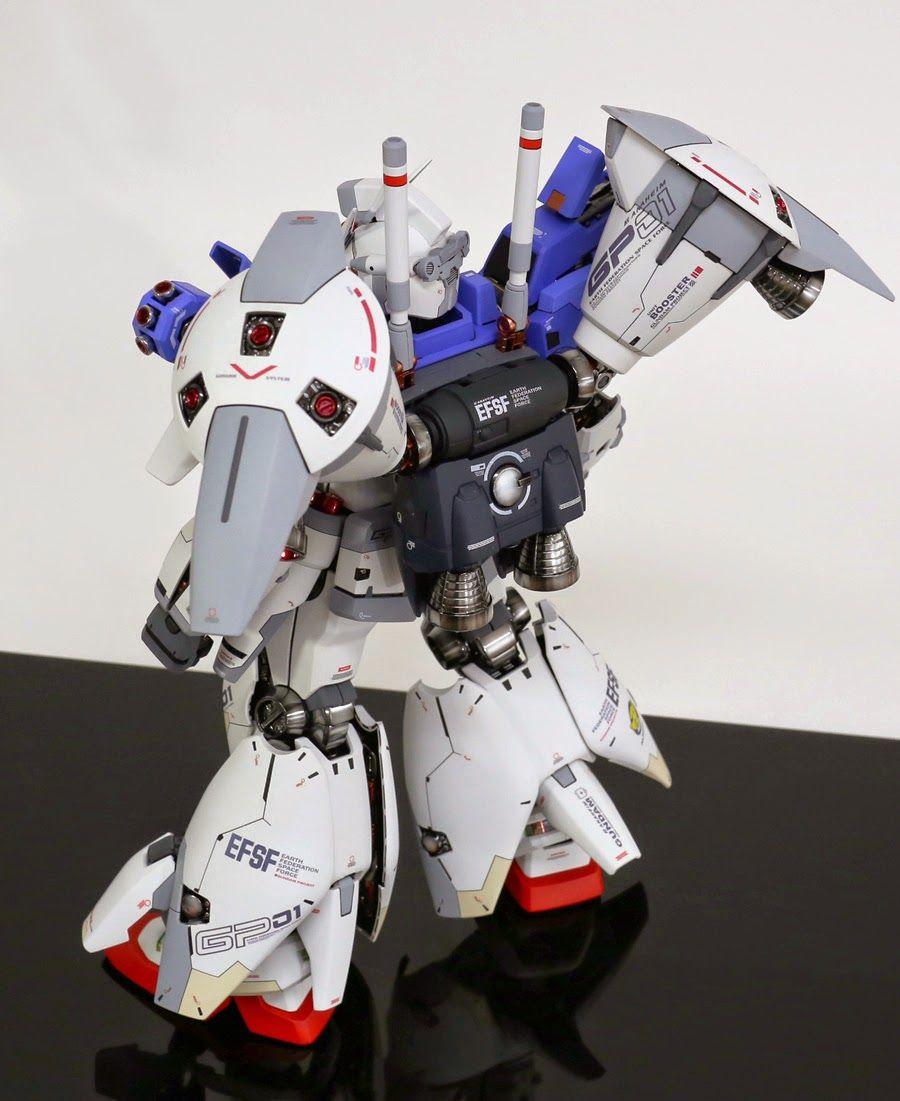 Custom Build: PG 1/60 Gundam GP01 Zephyranthes - Gundam