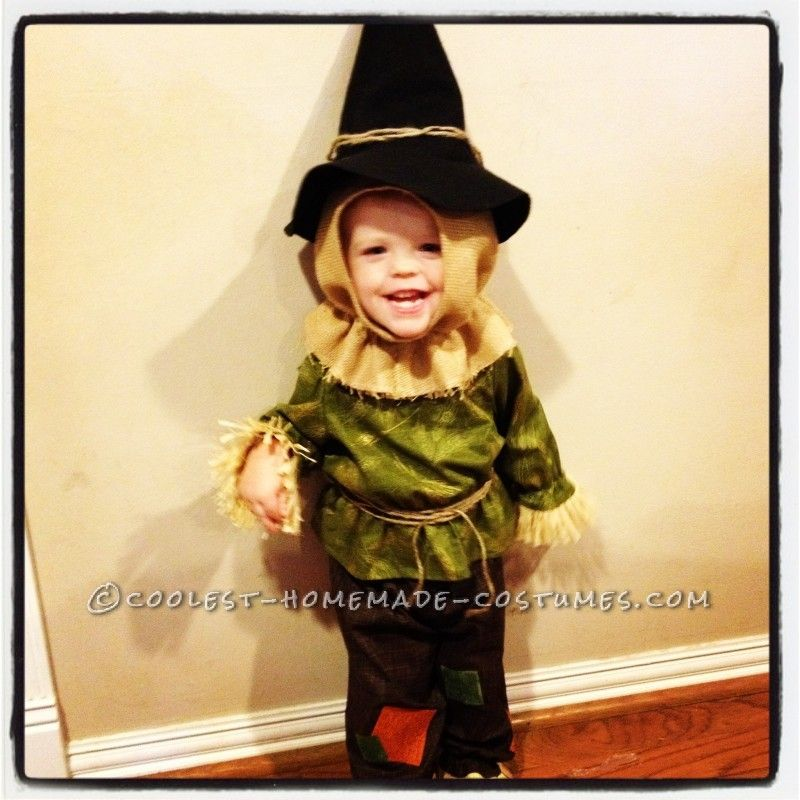 Cute Toddler Scarecrow Costume Toddler scarecrow costume - scarecrow halloween costume ideas