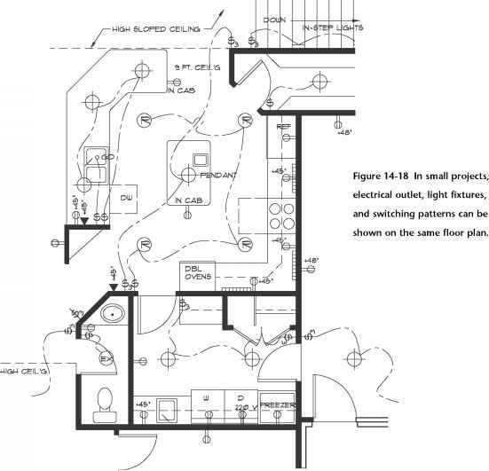 commercial electrical plans
