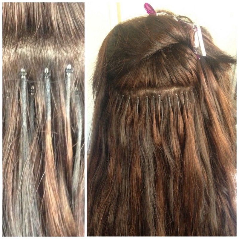 Hair extensions micro loop micro ring micro bead 100 strands micro bead hair extensions 12 pmusecretfo Gallery