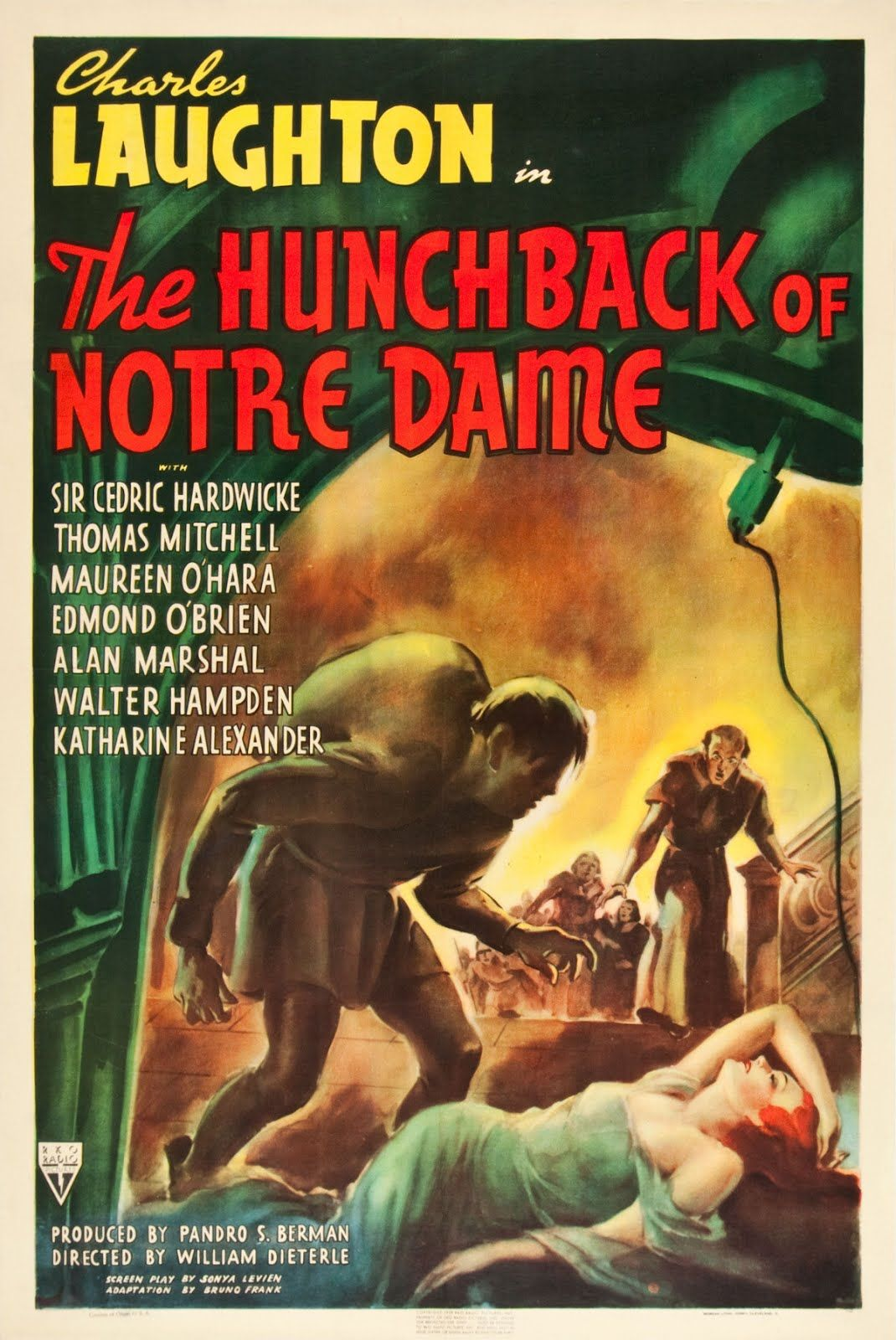 a review of the hunchback of notre dame a film by william dieterie The hunchback of notre dame film 0 love it save it 2 william dieterle: the film is visually stunning and the already dark romantic tale of unrequited.