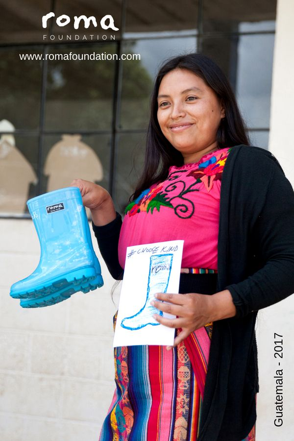 Boot Distribution To Guatemala Roma Foundation Is A