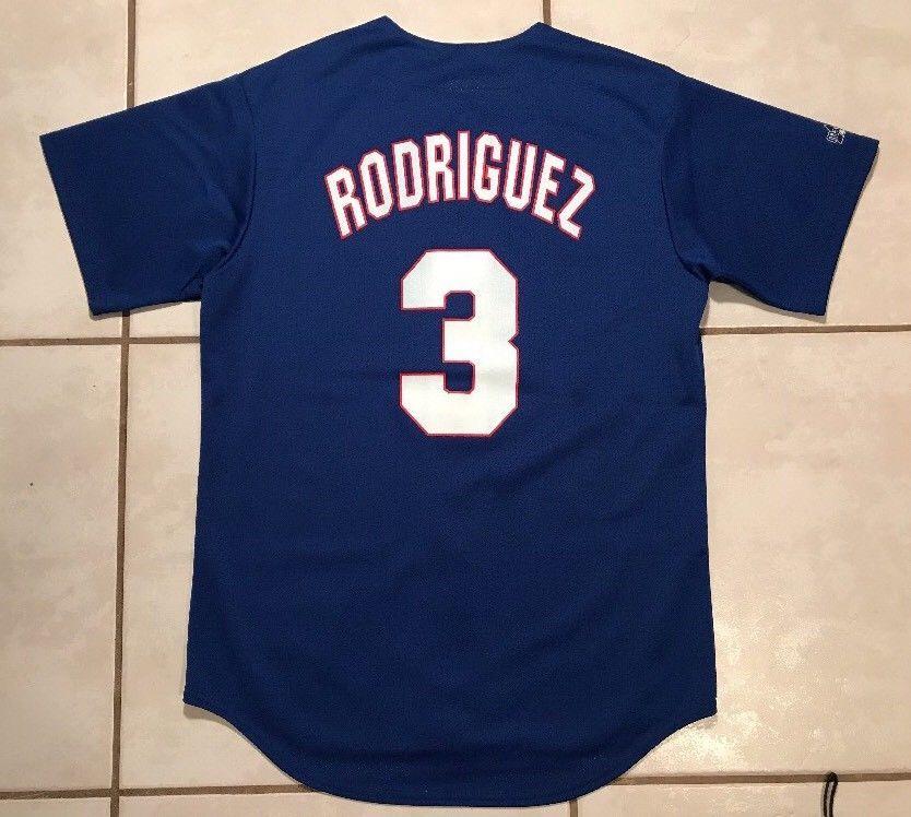 meet a76aa cb862 Rare Vintage MAJESTIC Texas Rangers Alex Rodriguez MLB ...