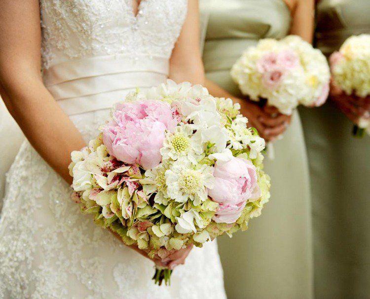 Très Bouquet mariee rose pale – Votre heureux blog photo de mariage NH81