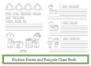 the 3 r\'s, reduce reuse recycle activities, earth day activities ...