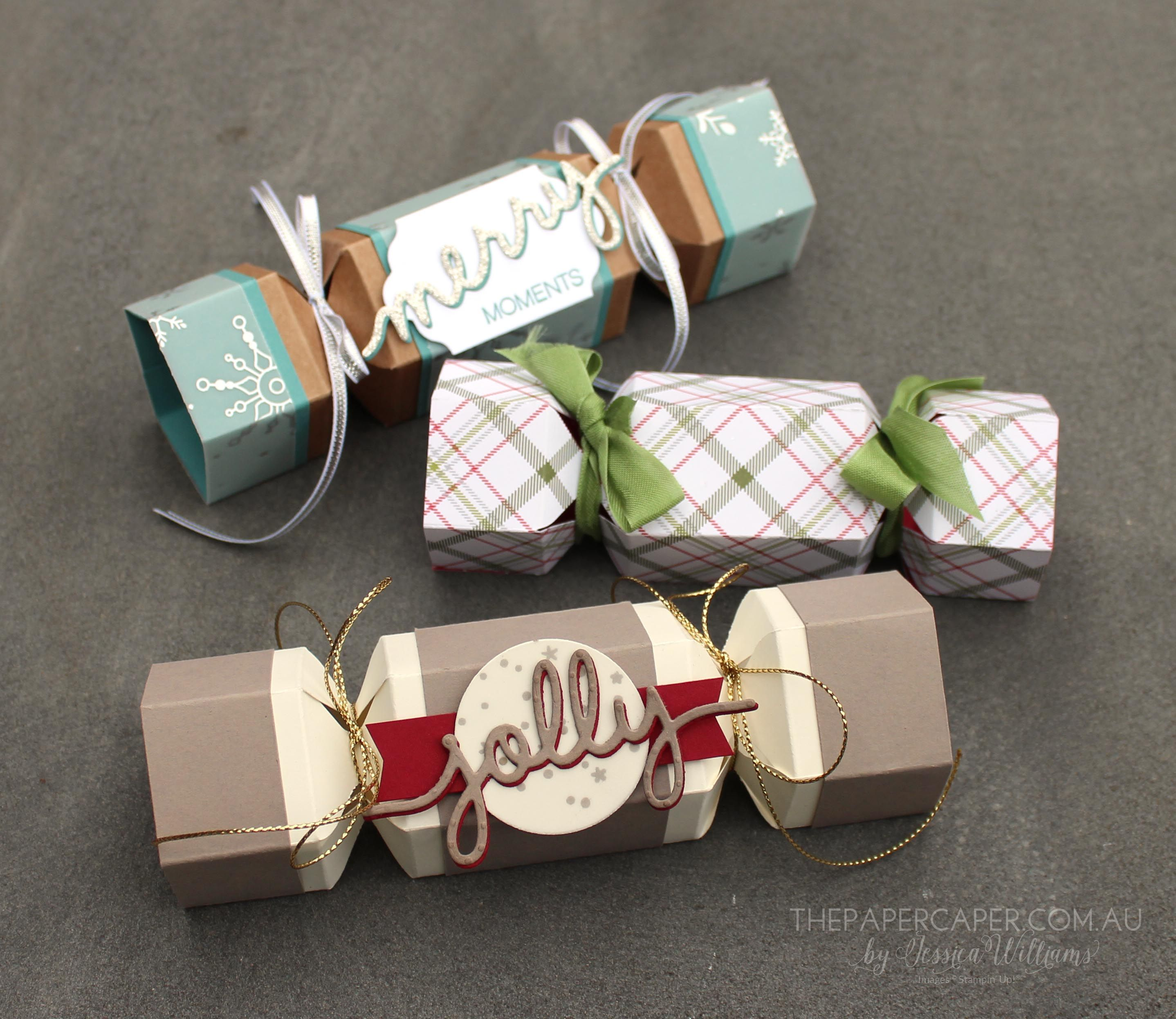 blog stampin 39 up 3d items christmas crackers christmas diy christmas crackers. Black Bedroom Furniture Sets. Home Design Ideas