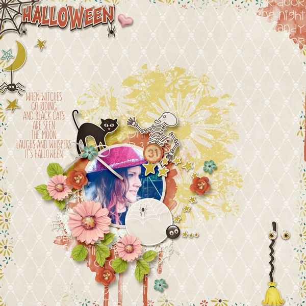 October means longer nights, rustling leaves and the release of the tenth edition of my 2017 Photo Focus series. The templates still have those big photo spots and word art that you love and the kit is full of fun papers and elements to dress them up with custom made touches like frames, journal spots, labels and tabs.