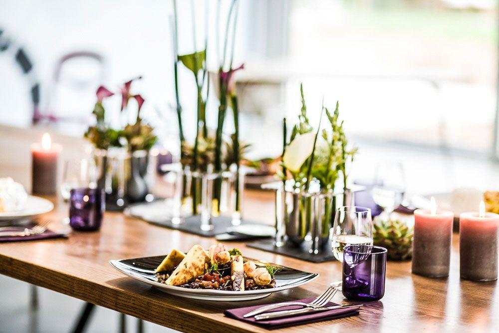 Tischdeko Fur Den Esstisch Stilvoll Serviert Pinterest