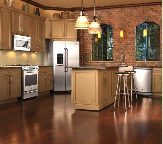 Kitchen Cabinet Paint Colors Design Ideas: GE Cafe Kitchen/cabinet Paint Color