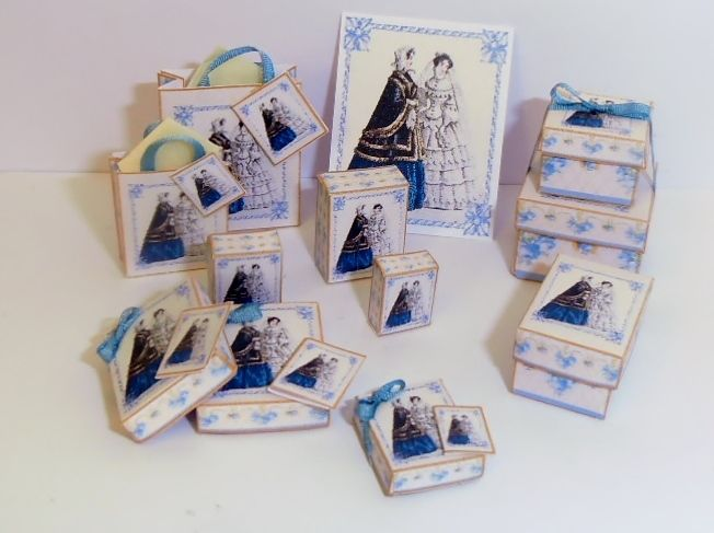 Download - Victorian Wedding Boxes And Bags