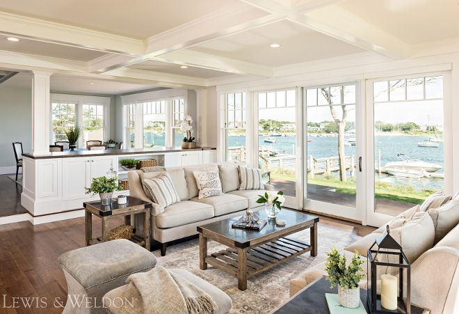 Furniture arranged to take advantage of the view classic shingle home design ideas also rh pinterest