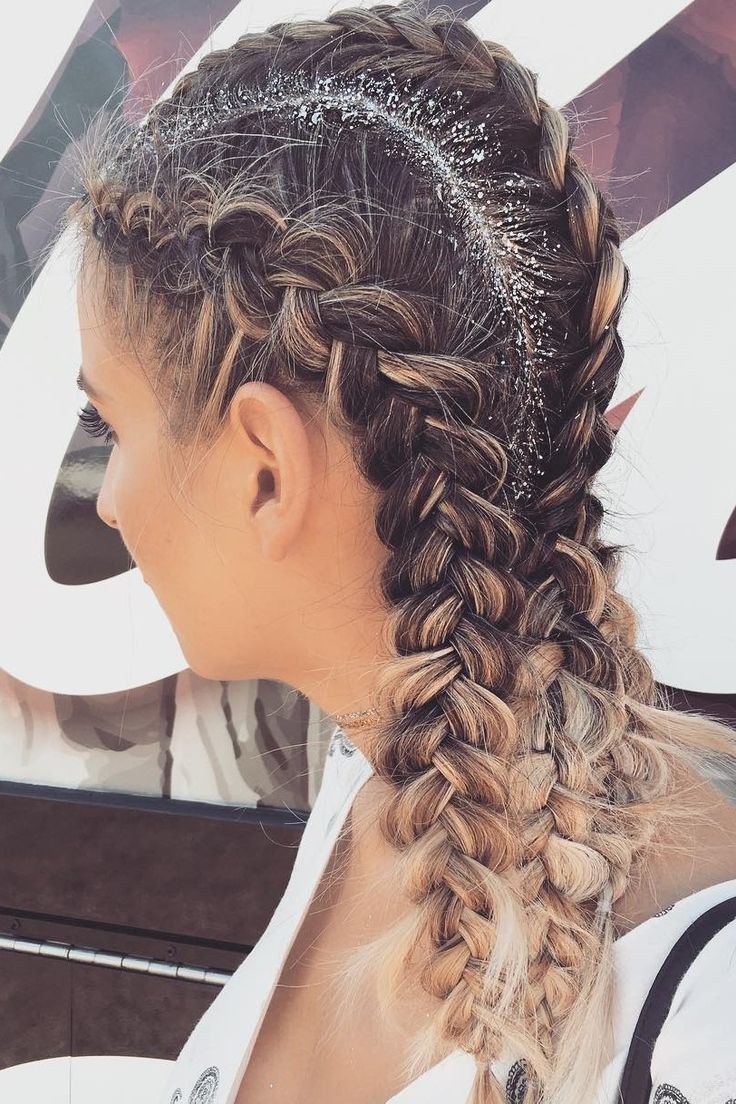 Festival Hairstyles Brilliant 20 Photos That Prove Glitter Roots Is The Official Hairstyle Of