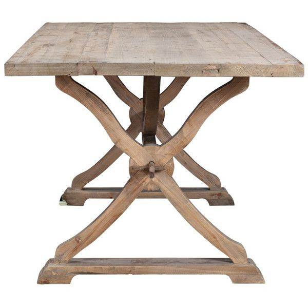Albridge Reclaimed Wood Dining Table In Natural Wax | Joss U0026 Main