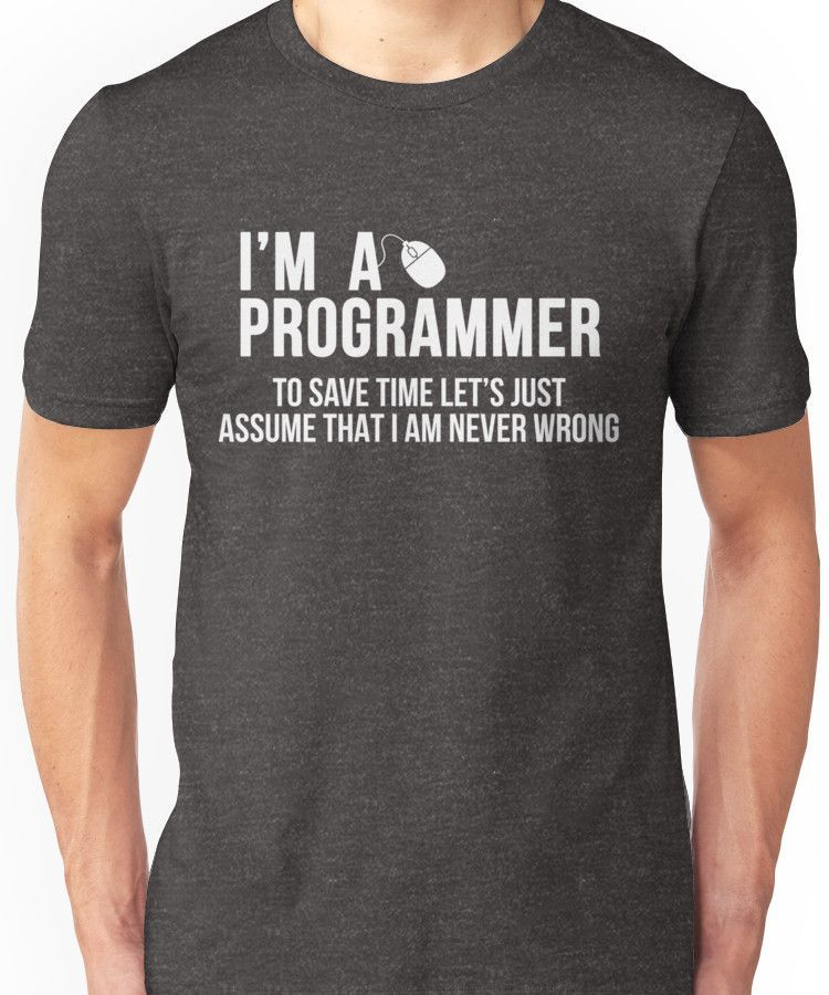 4012fc74 Programmer | Slim Fit T-Shirt in 2019 | Products | T shirt, Shirts ...
