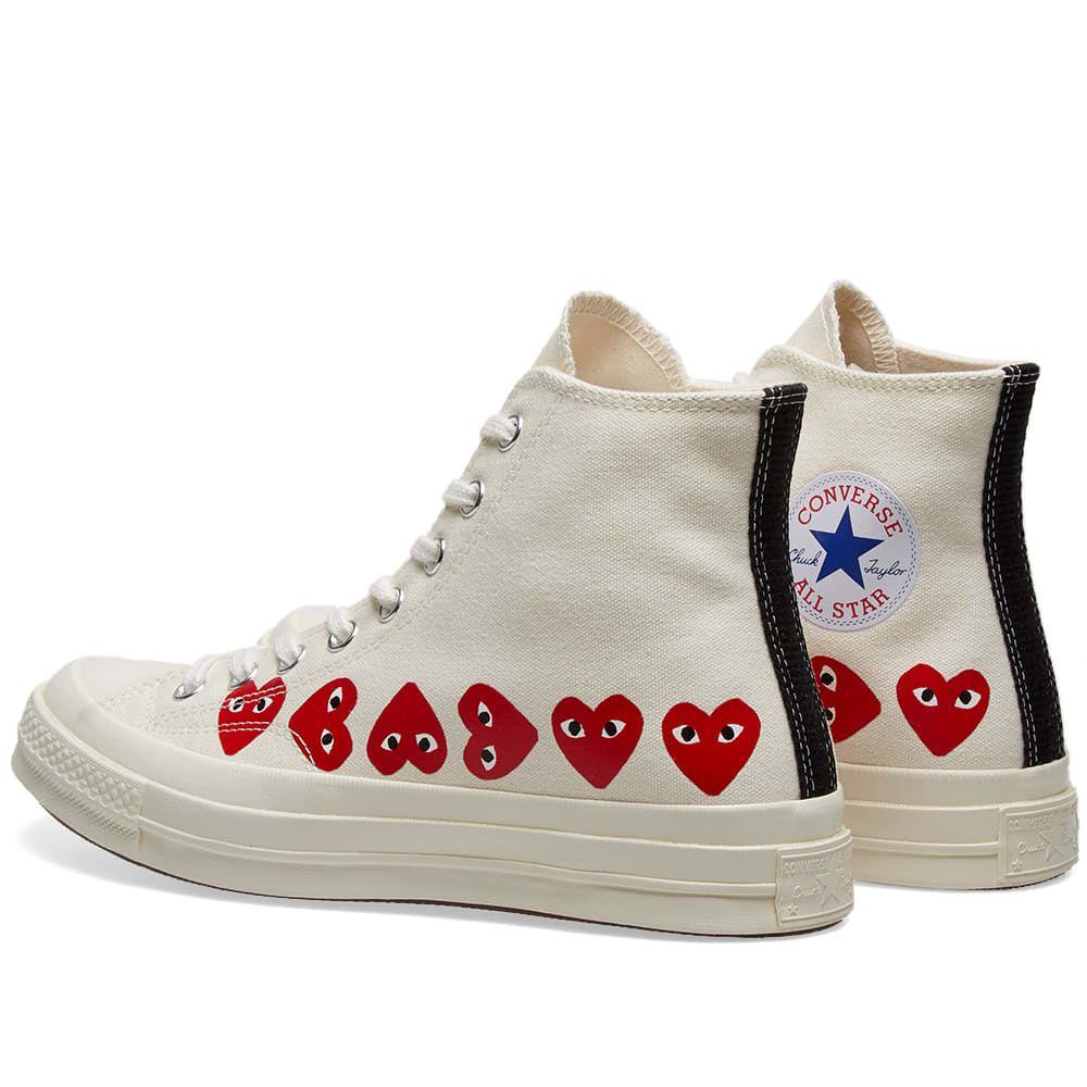 Comme des Garcons Play x Converse Chuck Taylor Multi Heart