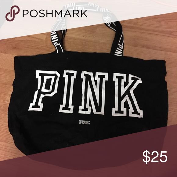 Pink Victoria's Secret tote bag Cute bag! PINK Bags Totes