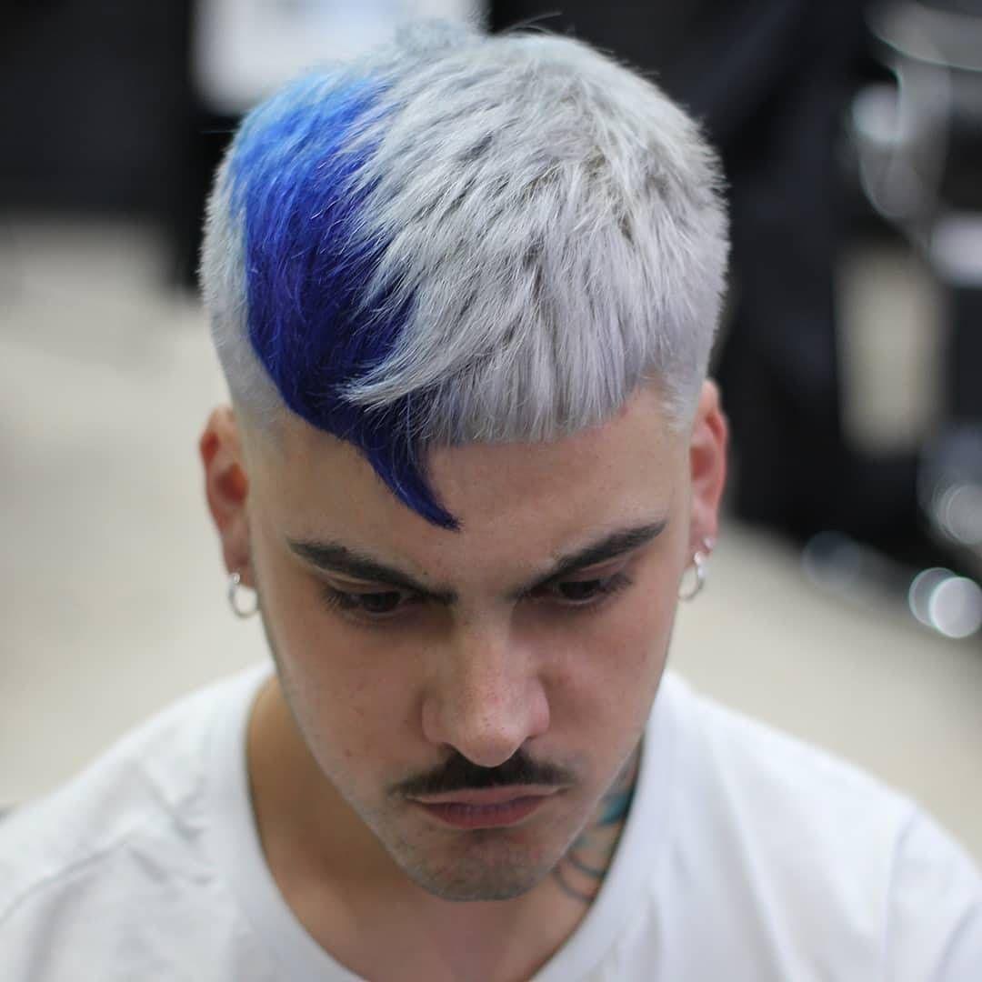 70 Likes 2 Comments Men Haircut Menhaircuts On Instagram Labarberiadevigo Boom Cambio De Look Mens Hair Colour Dyed Hair Men Men Hair Color