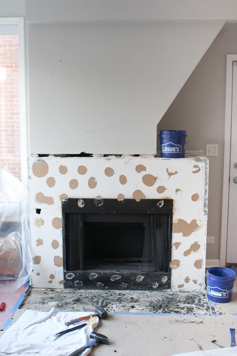Adding Cement Board To Fireplace Surround Diy Home Improvement