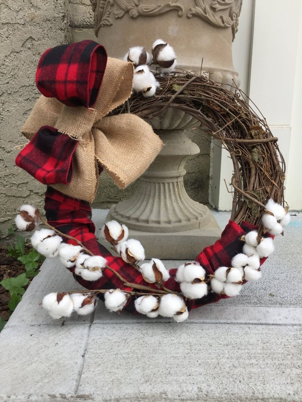 Cool Rustic Wreaths Christmas Decoration Ideas08 ...