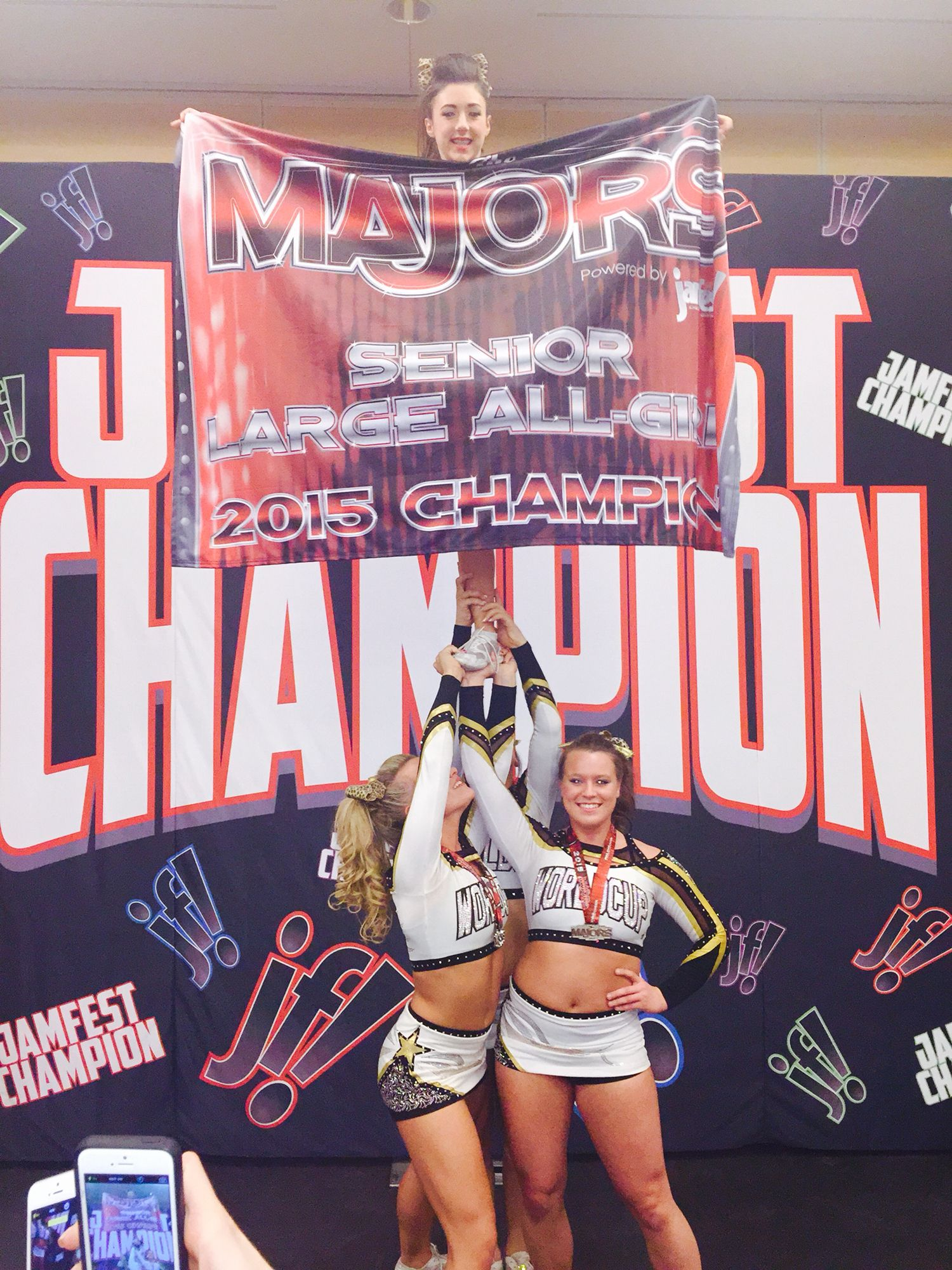 WCSS The Majors Cheer award, Allstar cheerleading, Cheer