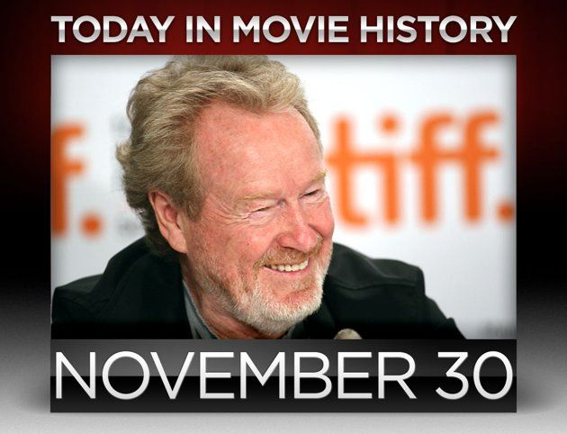 #MovieHistory: director Ridley Scott was born on this day in 1937. Happy 75th!