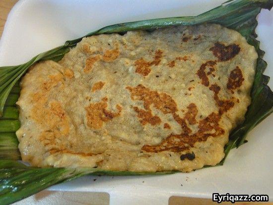 Lempeng Pisang Pisang Ambon Yang Diiris Kecil Sagu Aren Gula Aren Parutan Kelapa Food Cooking Snacks