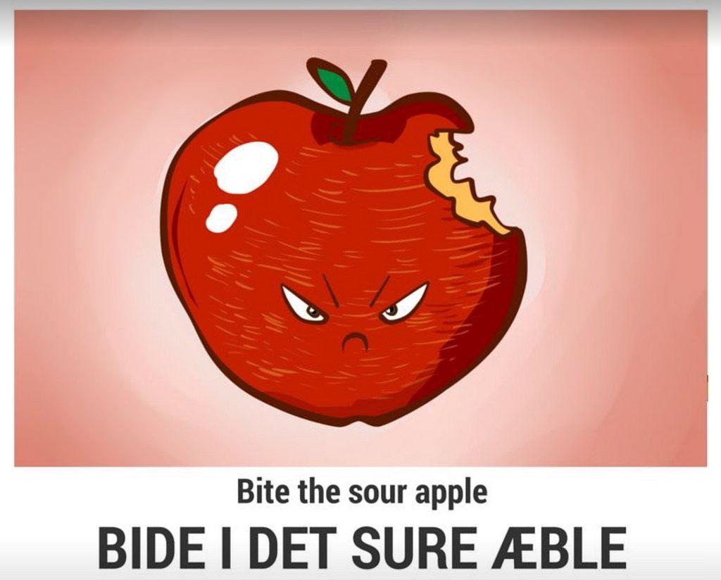 bide i det sure æble hvidpil