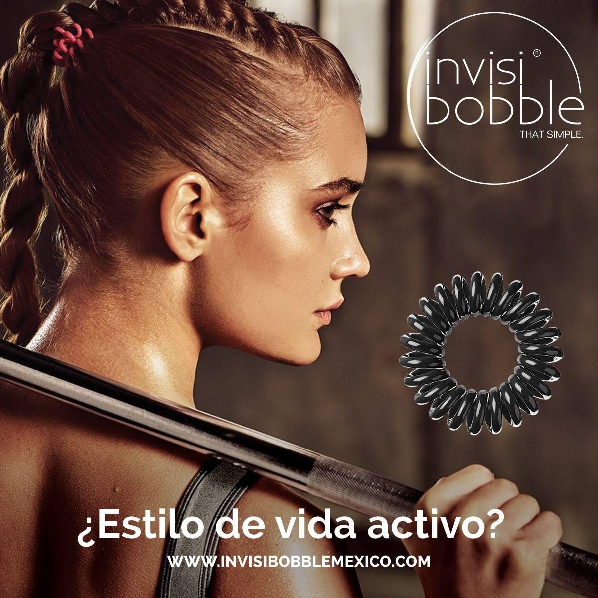 ¿Buscas fijación extra fuerte? Invisibobble es la respuesta #deporte #ejercicio #fuerza